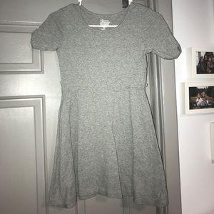 Sz 8 Girls Gray Dress. MUST BE BUNDLED